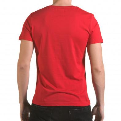 Tricou bărbați Franklin roșu il170216-13 3