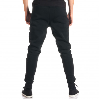 Pantaloni baggy bărbați Top Star negri ca280916-11 3