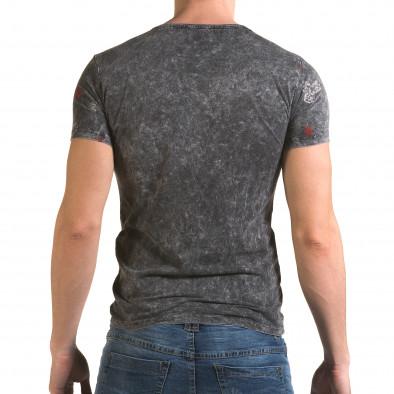 Tricou bărbați Lagos gri il120216-31 3