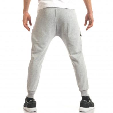 Pantaloni sport bărbați ChRoy gri it140317-67 3