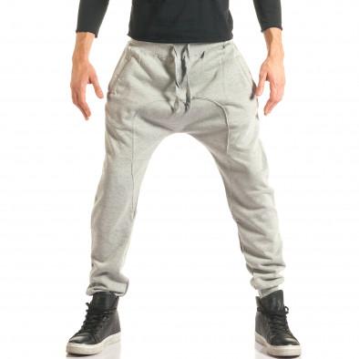 Pantaloni baggy bărbați The Power gri it181116-46 2