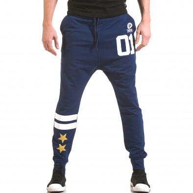 Pantaloni bărbați Franklin albastru il170216-138 2