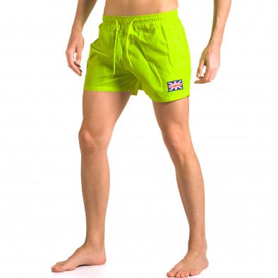 Costume de baie bărbați Bitti Jeans verde ca050416-9 4