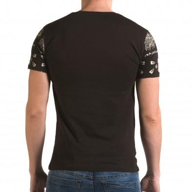 Tricou bărbați Lagos maro il120216-56 3