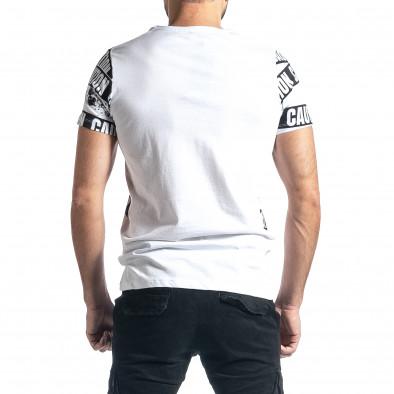 Tricou bărbați Lagos alb tr010221-12 3
