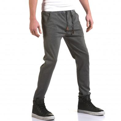 Pantaloni bărbați Jack Berry gri it090216-29 4