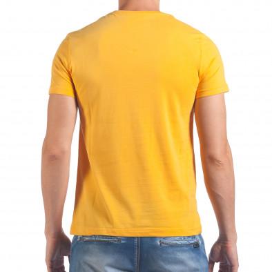 Tricou bărbați Just Relax galben il060616-15 3