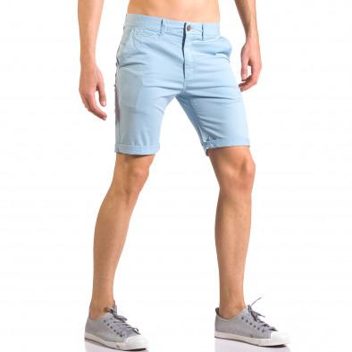 Pantaloni scurți bărbați XZX-Star albaștri ca050416-61 4