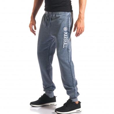 Pantaloni bărbați Marshall albastru it160816-14 2