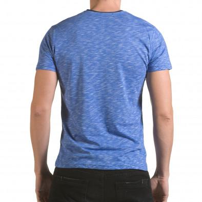 Tricou bărbați Franklin albastru il170216-14 3