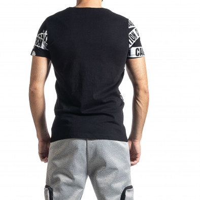Tricou bărbați Lagos negru tr010221-10 3