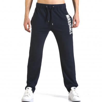 Pantaloni bărbați Marshall albastru it110316-15 2