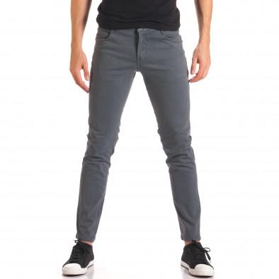 Pantaloni bărbați G-9 gri it150816-1 2
