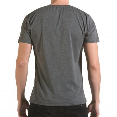 Tricou bărbați Franklin gri il170216-2 3
