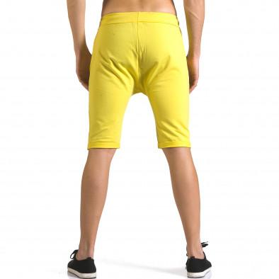 Pantaloni scurți bărbați ChRoy galbeni it110316-75 3