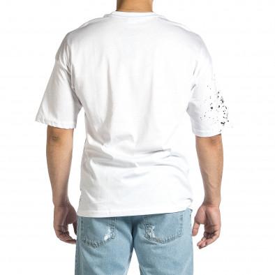 Tricou bărbați Breezy alb tr150521-9 4