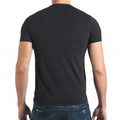 Tricou bărbați Millionaire negru il140416-18 3