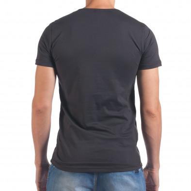Tricou bărbați Eksi gri il060616-80 3