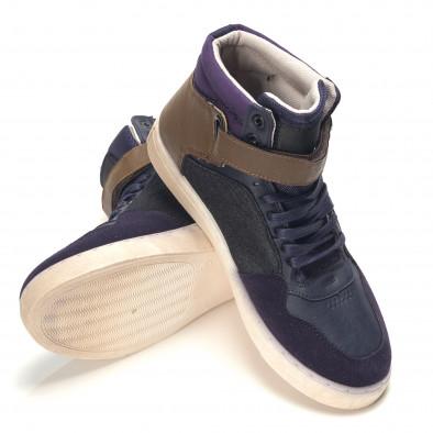 Pantofi sport bărbați Reeca albaștri it100915-19 4