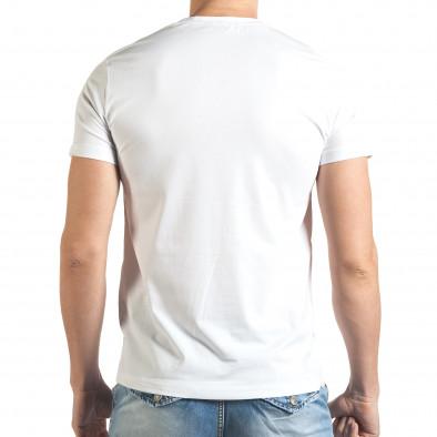 Tricou bărbați Frank Martin alb tsf140416-72 3