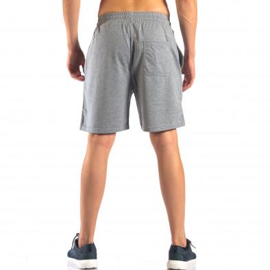 Pantaloni scurți bărbați Marshall gri it160616-4 3