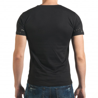 Tricou bărbați Lagos negru il140416-62 3
