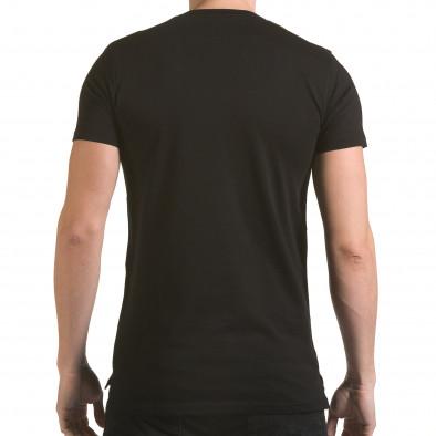 Tricou bărbați SAW negru il170216-54 3
