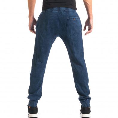 Pantaloni baggy bărbați Bread & Buttons albaștri it160816-34 3