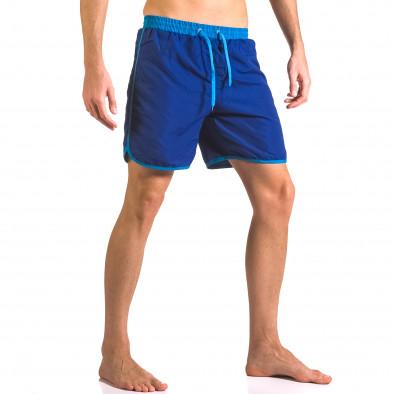 Costume de baie bărbați Yaliishi albastru ca050416-32 4