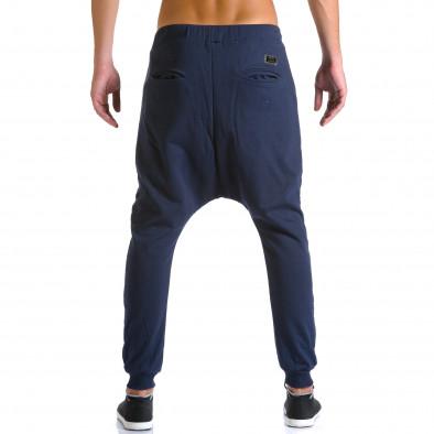 Pantaloni baggy bărbați Devil Slayer albaștri ca260815-24 3