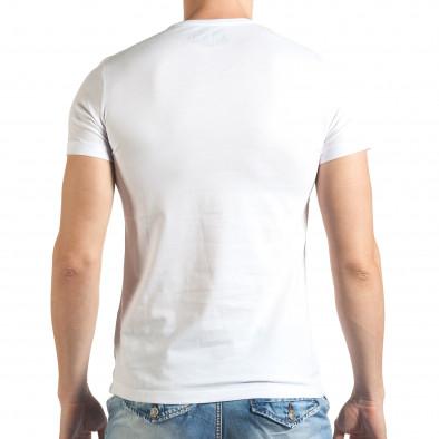 Tricou bărbați Just Relax alb il140416-39 3