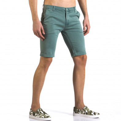 Pantaloni scurți bărbați Bruno Leoni verzi it110316-47 4