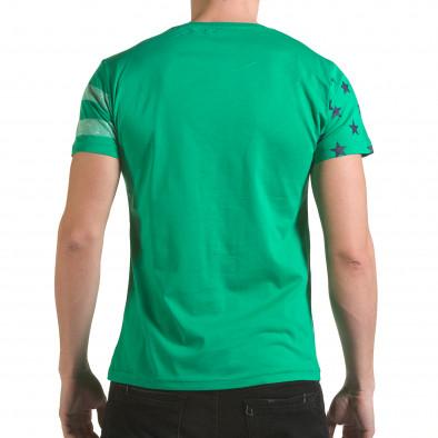 Tricou bărbați Franklin verde il170216-11 3
