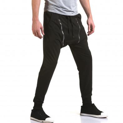 Pantaloni baggy bărbați Belmode negri it090216-46 4