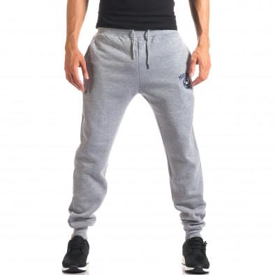 Pantaloni sport bărbați Marshall gri it160816-8 4