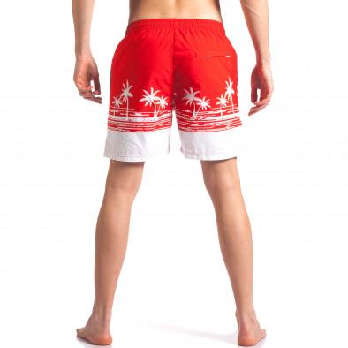 Costume de baie bărbați Austar Jeans roșu it250416-39 3
