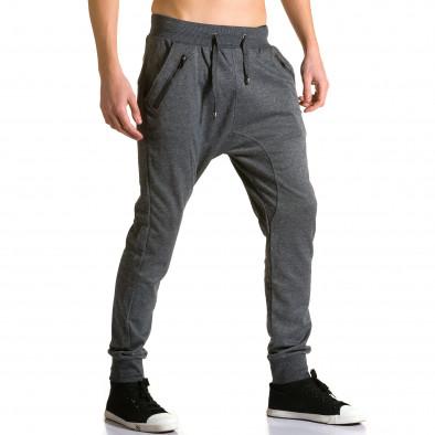Pantaloni baggy bărbați Furia Rossa gri ca190116-18 4