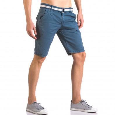 Pantaloni scurți bărbați Top Star albaștri ca050416-65 4