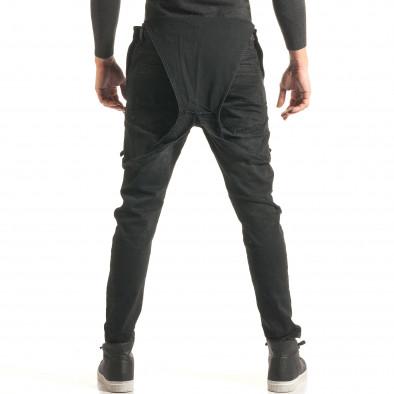 Salopetă de blugi bărbați Always Jeans negri it181116-62 3
