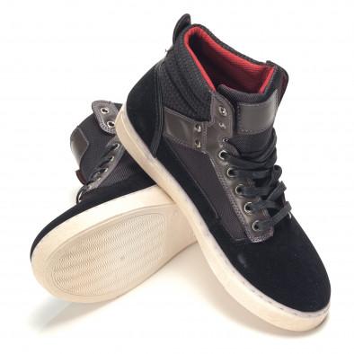 Pantofi sport bărbați Reeca negri it100915-22 4