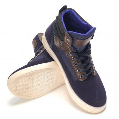 Pantofi sport bărbați Reeca albaștri it100915-21 4
