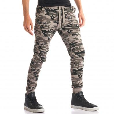 Pantaloni bărbați New Mentality camuflaj ca280916-9 4