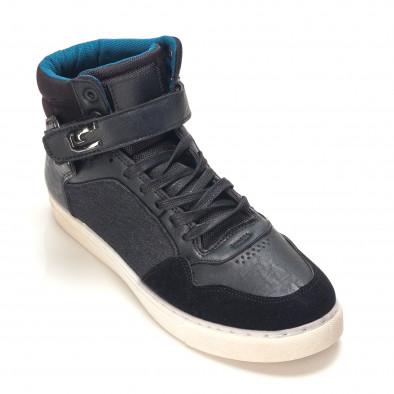 Pantofi sport bărbați Reeca negri it100915-20 3
