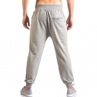 Pantaloni baggy bărbați B-Men gri ca050416-52 3