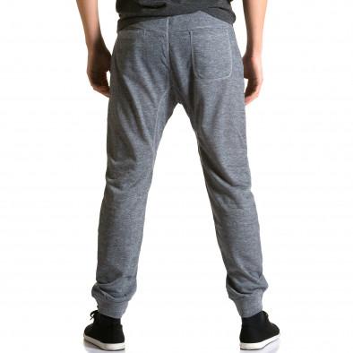Pantaloni baggy bărbați Dress&GO gri ca190116-28 3