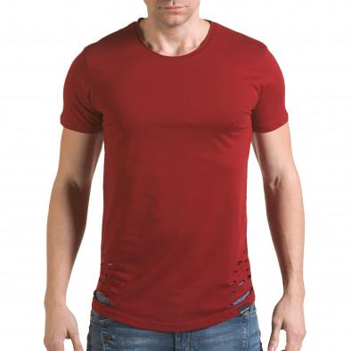 Tricou bărbați SAW roșu il170216-61 2