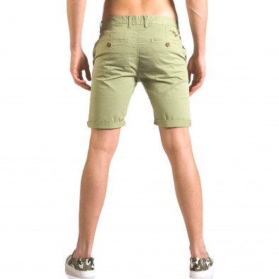 Pantaloni scurți bărbați XZX-Star verzi ca050416-63 3