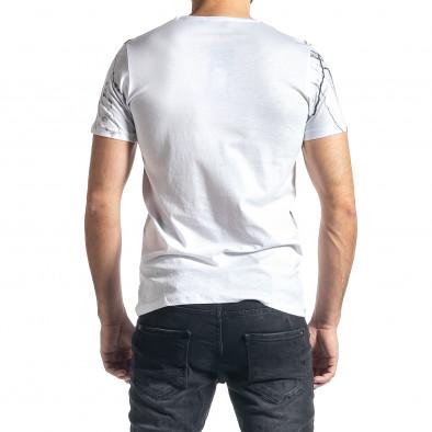 Tricou bărbați Lagos alb tr010221-5 3