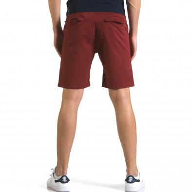 Pantaloni scurți bărbați Marshall roșii it110316-38 3