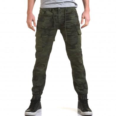 Pantaloni bărbați Yes Design camuflaj it090216-11 2